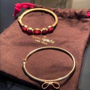 Kate spade costume jewelry bracelets